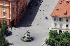 Várias formas da cidade velha Fotos de Stock Royalty Free