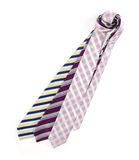 Várias gravatas Fotografia de Stock