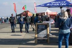 Várias tendas em Rand Airshow 2018 imagem de stock royalty free