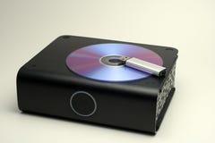 Vário dispositivo de armazenamento Imagens de Stock Royalty Free
