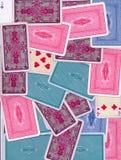 Vário fundo das partes traseiras de cartões imagens de stock royalty free