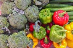 Vário tipo de vegetais Foto de Stock
