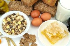 Vários alimentos Imagens de Stock Royalty Free