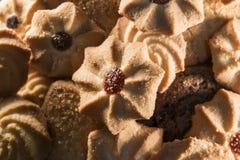 Vários biscoitos Foto de Stock