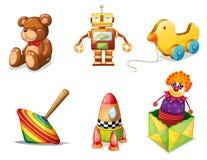 Vários brinquedos Imagens de Stock