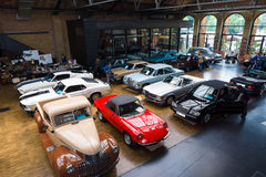 Vários carros do vintage Imagem de Stock
