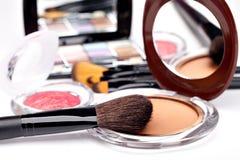 Vários cosméticos imagens de stock royalty free