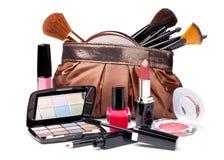Vários cosméticos imagens de stock
