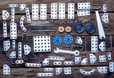 Vários detalhes do metal e a Fotografia de Stock