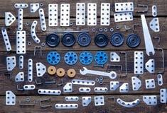 Vários detalhes do metal e a Foto de Stock