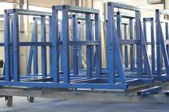 Vários elementos de estruturas do metal Fotos de Stock