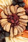 Vários frutos exóticos secados Fotografia de Stock