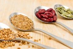 Vários ingredientes de alimento Imagens de Stock Royalty Free