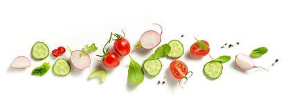 Vários legumes frescos fotografia de stock