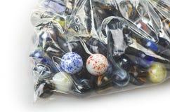 Vários mármores Fotos de Stock Royalty Free