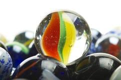 Vários mármores Fotos de Stock