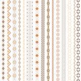 Vários motivos coloridos Imagens de Stock Royalty Free