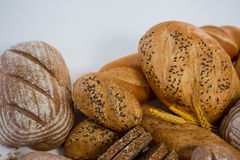 Vários nacos do pão Fotos de Stock