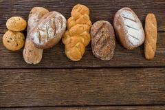 Vários nacos do pão Fotos de Stock Royalty Free