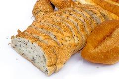 Vários pães Fotos de Stock Royalty Free