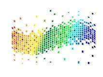 Vários pixéis das cores Fotos de Stock