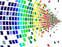 Vários pixéis das cores Fotografia de Stock Royalty Free