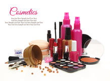 Vários produtos de beleza Foto de Stock