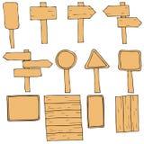 Vários sinais e símbolos Imagem de Stock