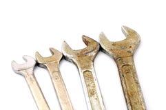 Vários tamanhos de chaves velhas Foto de Stock Royalty Free