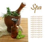 Vários termas e aromatherapy Fotos de Stock Royalty Free