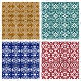 Vários testes padrões abstratos Imagem de Stock Royalty Free