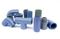 Vários tipos de encaixes de tubulação Fotografia de Stock