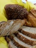 Vários tipos de pão Fotos de Stock Royalty Free