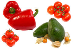 Vários vegetais Fotografia de Stock