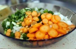 Vários vegetarianos desbastados Fotografia de Stock Royalty Free