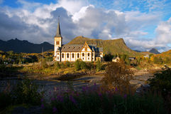 Vågan Church Royalty Free Stock Photography