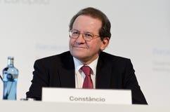 Vítor Constâncio, ECB Vice-President Royalty Free Stock Images