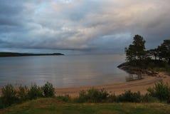 vänern的湖 免版税图库摄影