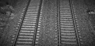 VÃas de tren Fotos de Stock Royalty Free