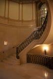Vão das escadas circular imagens de stock royalty free