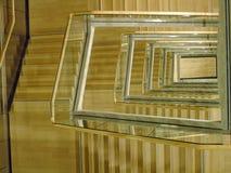 Vão das escadas moderno da construção Imagem de Stock