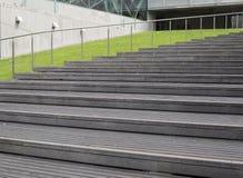 Vão das escadas pelas hortaliças imagens de stock royalty free