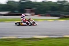 Vão os esportes de competência do kart Foto de Stock Royalty Free