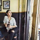 Väckande begrepp för dryck för fritid för koffein för kaffeavbrott royaltyfria foton