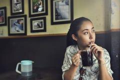 Väckande begrepp för dryck för fritid för koffein för kaffeavbrott arkivfoton