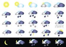 väder Arkivfoto