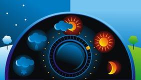 väder Fotografering för Bildbyråer