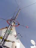 väder för vetenskap för mittskärminstrument Arkivbild