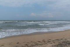 Väder på stranden Royaltyfri Fotografi
