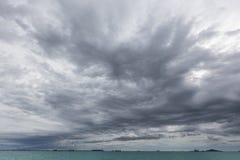 Väder Strom är kommande snart Royaltyfria Foton